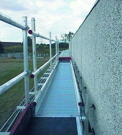 Werkbruggen Little Jumbo met vaste kantplanken