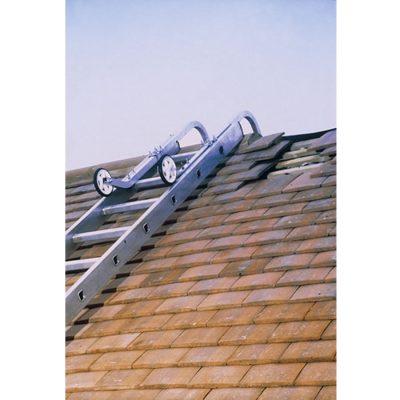 Laddernokhaken universeel voor veilig werken op dak