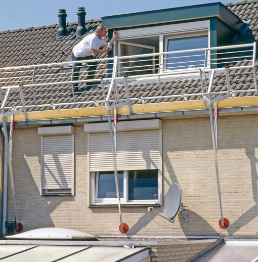 RSS Dakrandbeveiliging Roof Safety System | donvangorp.nl