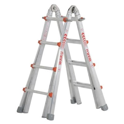 Telescoopladder Waku. De multifunctionele ladder | Donvangorp.nl