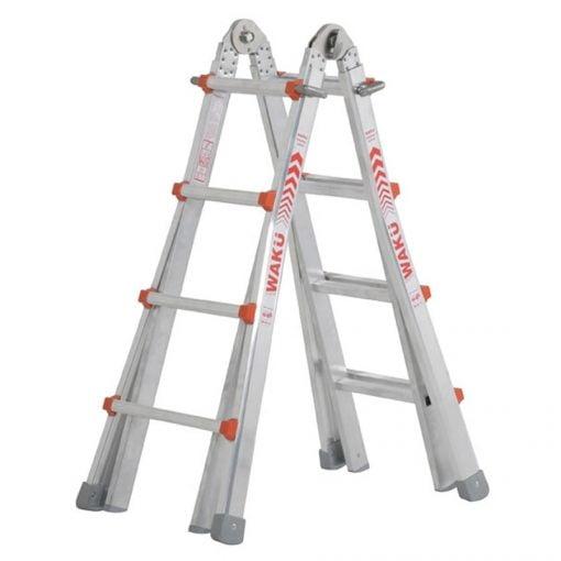 Telescoopladder Waku. De multifunctionele ladder | Donvangorp.nl