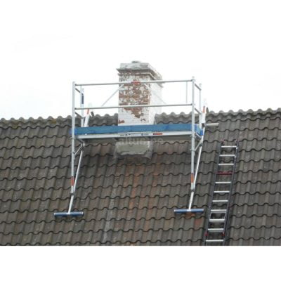 Daksteiger ASC voor veilig werken aan uw schoorsteen| donvangorp.nl